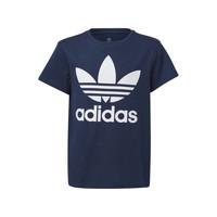衣服 儿童 短袖体恤 Adidas Originals 阿迪达斯三叶草 GD2679 蓝色