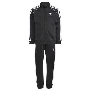 衣服 儿童 厚套装 Adidas Originals 阿迪达斯三叶草 GN4362 黑色