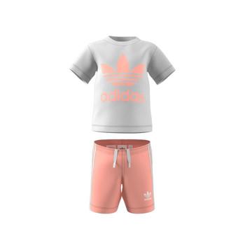 衣服 儿童 女士套装 Adidas Originals 阿迪达斯三叶草 GN8192 白色