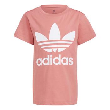 衣服 儿童 短袖体恤 Adidas Originals 阿迪达斯三叶草 GN8205 白色