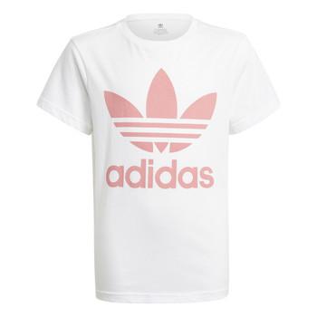 衣服 儿童 短袖体恤 Adidas Originals 阿迪达斯三叶草 GN8213 白色