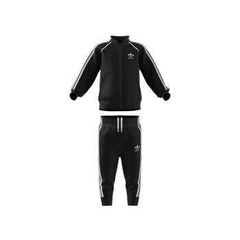 衣服 儿童 厚套装 Adidas Originals 阿迪达斯三叶草 GN8441 黑色