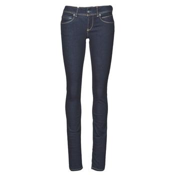 衣服 女士 紧身牛仔裤 Pepe jeans NEW BROOKE 蓝色 / Brut / M15