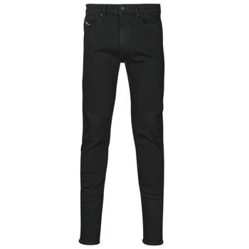 衣服 男士 牛仔铅笔裤 Diesel 迪赛尔 D-AMNY-SP4 黑色