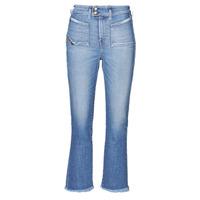 衣服 女士 喇叭牛仔裤 Diesel 迪赛尔 D-EARLIE-H 蓝色