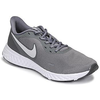 鞋子 男士 跑鞋 Nike 耐克 REVOLUTION 5 灰色