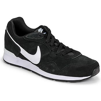 鞋子 男士 球鞋基本款 Nike 耐克 VENTURE RUNNER SUEDE 黑色 / 白色