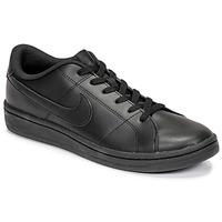 鞋子 男士 球鞋基本款 Nike 耐克 COURT ROYALE 2 LOW 黑色