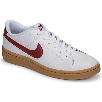 鞋子 男士 球鞋基本款 Nike 耐克 COURT ROYALE 2 LOW 白色 / 红色