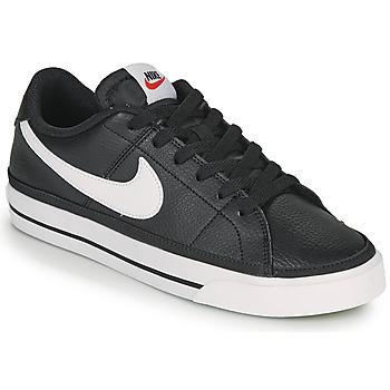 鞋子 女士 球鞋基本款 Nike 耐克 COURT LEGACY 黑色 / 白色