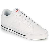 鞋子 女士 球鞋基本款 Nike 耐克 COURT LEGACY 白色