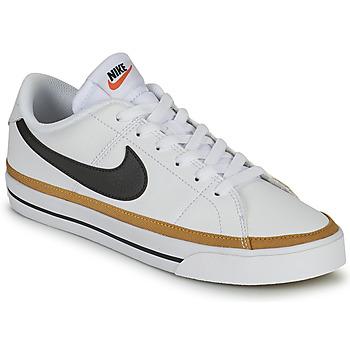 鞋子 女士 球鞋基本款 Nike 耐克 COURT LEGACY 白色 / 蓝色
