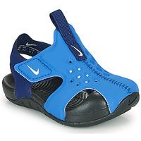 鞋子 男孩 拖鞋 Nike 耐克 SUNRAY PROTECT 2 TD 蓝色