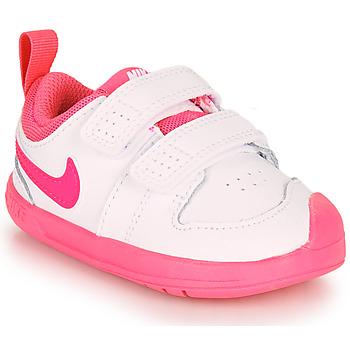 鞋子 女孩 球鞋基本款 Nike 耐克 Pico 5 TD 白色 / 玫瑰色
