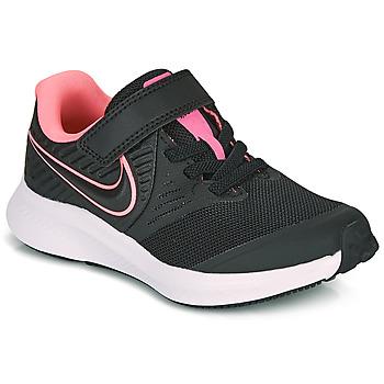 鞋子 女孩 多项运动 Nike 耐克 STAR RUNNER 2 PS 黑色 / 玫瑰色
