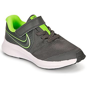 鞋子 男孩 多项运动 Nike 耐克 STAR RUNNER 2 PS 灰色 / 绿色