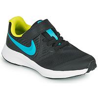 鞋子 男孩 多项运动 Nike 耐克 STAR RUNNER 2 PS 黑色 / 蓝色
