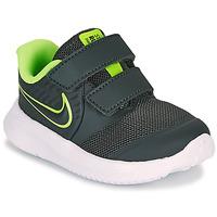 鞋子 男孩 多项运动 Nike 耐克 STAR RUNNER 2 TD 黑色 / 绿色