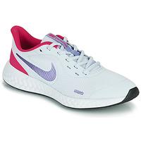 鞋子 女孩 多项运动 Nike 耐克 REVOLUTION 5 GS 蓝色 / 紫罗兰