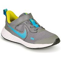 鞋子 男孩 多项运动 Nike 耐克 REVOLUTION 5 PS 灰色 / 蓝色