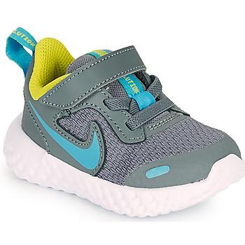 鞋子 男孩 多项运动 Nike 耐克 Revolution 5 TD 灰色 / 蓝色