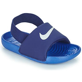 鞋子 男孩 拖鞋 Nike 耐克 NIKE KAWA TD 蓝色