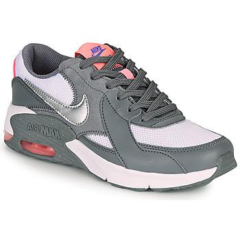 鞋子 女孩 球鞋基本款 Nike 耐克 AIR MAX EXCEE GS 灰色 / 玫瑰色