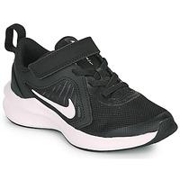 鞋子 儿童 多项运动 Nike 耐克 Downshifter 10 PS 黑色 / 白色