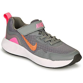 鞋子 女孩 多项运动 Nike 耐克 WEARALLDAY PS 灰色 / 玫瑰色