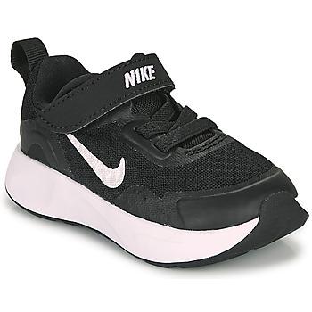 鞋子 儿童 多项运动 Nike 耐克 WEARALLDAY TD 黑色 / 白色
