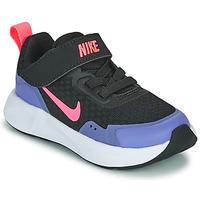 鞋子 女孩 多项运动 Nike 耐克 WEARALLDAY TD 黑色 / 蓝色