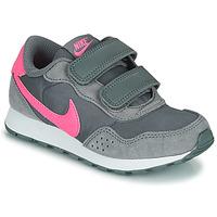 鞋子 女孩 球鞋基本款 Nike 耐克 MD VALIANT PS 灰色 / 玫瑰色