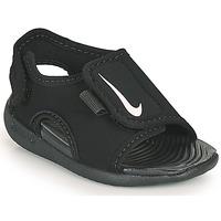 鞋子 儿童 拖鞋 Nike 耐克 Sunray Adjust 5 V2 TD 黑色