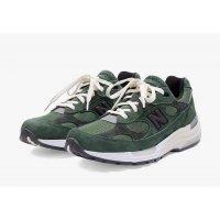 鞋子 球鞋基本款 New Balance新百伦 JJJJound x New Balence 992 Green Green - Grey