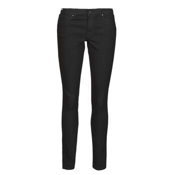 衣服 女士 紧身牛仔裤 Vero Moda VMJUDY 黑色