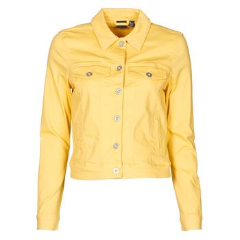 衣服 女士 牛仔外套 Vero Moda VMHOTSOYA 黄色
