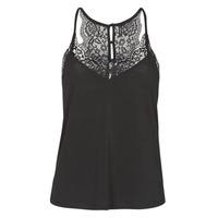 衣服 女士 无领短袖套衫/无袖T恤 Vero Moda VMANA 黑色