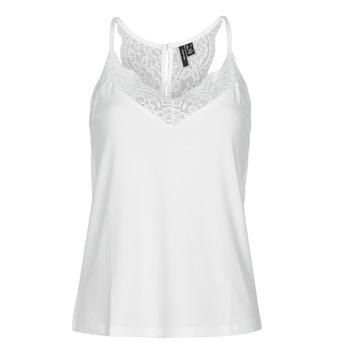 衣服 女士 无领短袖套衫/无袖T恤 Vero Moda VMANA 白色