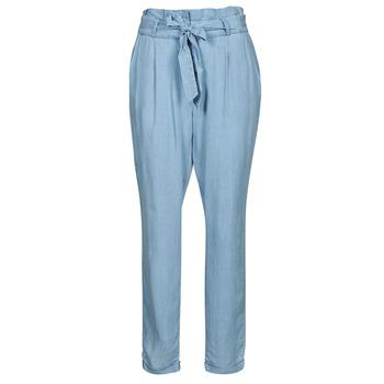 衣服 女士 休闲裤 Vero Moda VMVIVIANAEVA 蓝色 / 米色