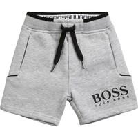 衣服 男孩 短裤&百慕大短裤 BOSS NOLLA 灰色