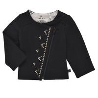 衣服 女孩 羊毛开衫 Ikks XS17020-02 黑色