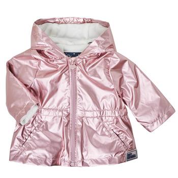 衣服 女孩 棉衣 Ikks XS42010-31 玫瑰色
