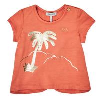 衣服 女孩 短袖体恤 Ikks XS10080-67 橙色