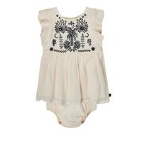 衣服 女孩 短裙 Ikks XS30060-11 白色