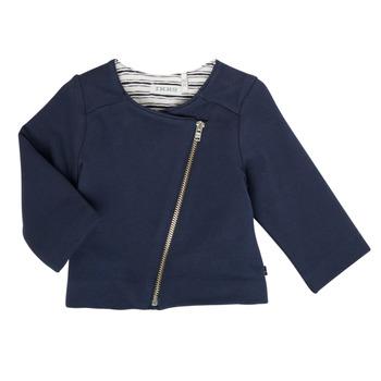 衣服 女孩 羊毛开衫 Ikks XS17030-48 海蓝色