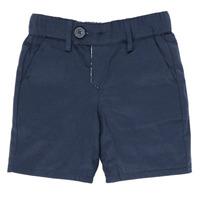 衣服 男孩 短裤&百慕大短裤 Ikks XS25021-45 海蓝色