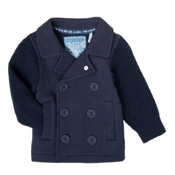 衣服 男孩 羊毛开衫 Ikks XS17001-48 海蓝色