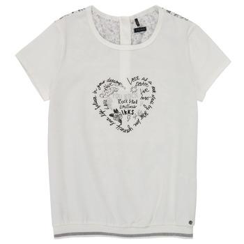 衣服 女孩 短袖体恤 Ikks XS10242-19-C 白色