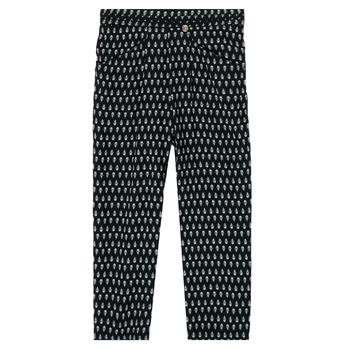 衣服 女孩 女士阔腿裤/灯笼裤 Ikks XS22002-02-J 黑色