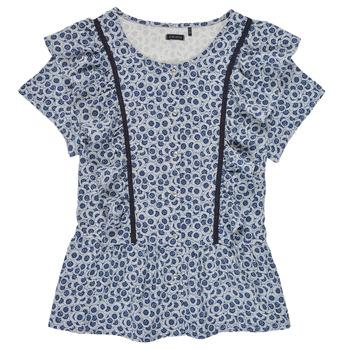 衣服 女孩 女士上衣/罩衫 Ikks XS12052-48-J 蓝色